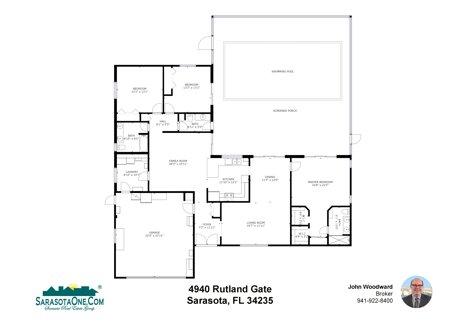 4940 Rutland Gate - Sarasota, FL 34235 Floor Plan