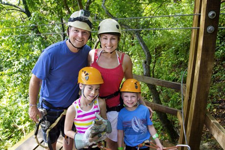 Families Stay Active In Spring Homes