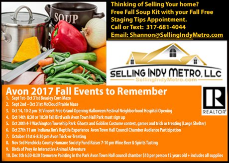 Fall Staging Appointment Receive Free fall Soup Kit.