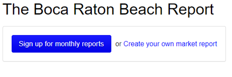 Boca Raton Beach Report