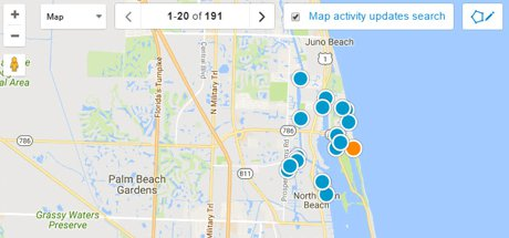North Palm Beach Map Search