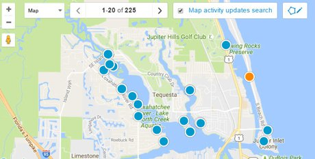 Tequesta Real Estate Interactive Map Search