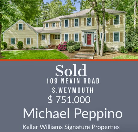 109 Nevin Road South Weymouth Sold Michael Peppino