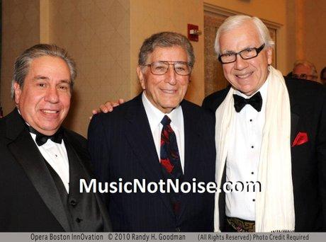 Paul Schlosberg, Tony Bennett, Ron Della Chiesa