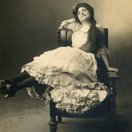 Bessie Phillips, Seattle Actress, Circa 1905