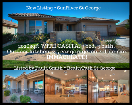 Home for Sale SunRiver St George Utah
