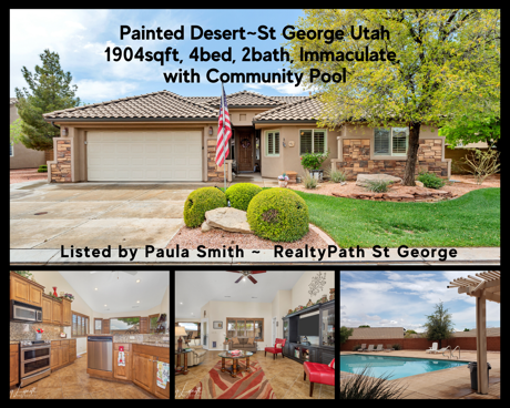 Painted Desert Home for sale St George