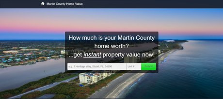 Martin County Home Value