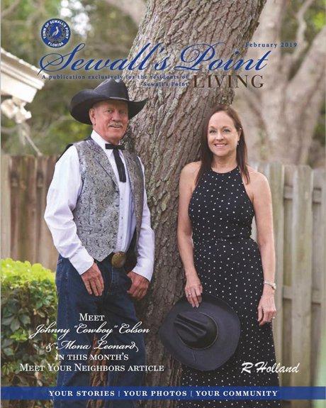 "Meet Mona Leonard and Johnny ""Cowboy"" Colson"