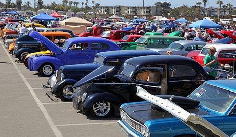 Aces Hot Rod Resurrection Car Show - Car show huntington beach