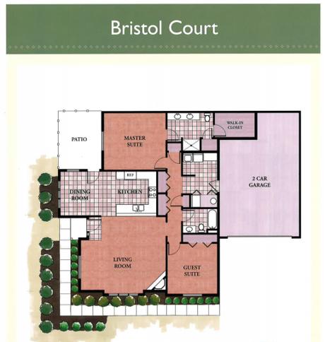 Bristol Court floor plan