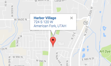 Harbor Village address & map American Fork Utah