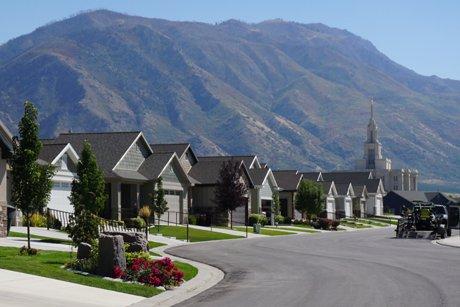 Heritage Village 55 plus community homes Payson Utah