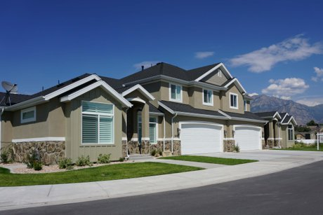 Homestead model home in Provo Utah