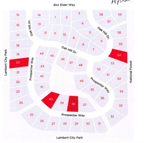 Lambert Park Map