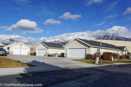 Sunset Court homes in Provo Utah