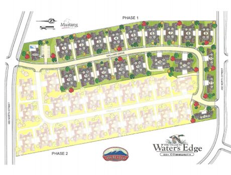 The Villas at Waters Edge community map