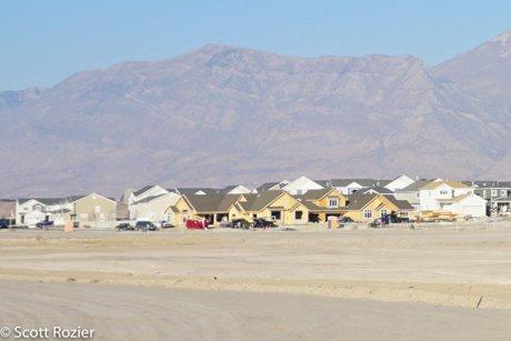 Villas at Waters Edge homes under construction