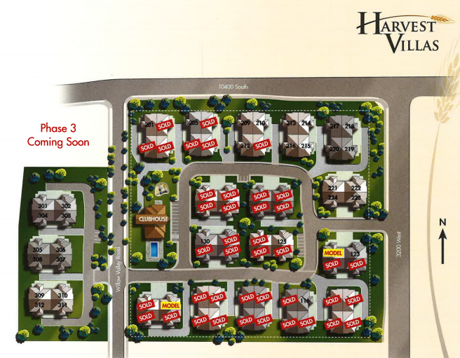 Harvest Villas community map