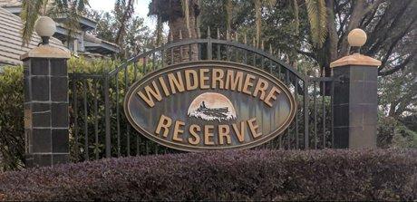 Windermere Reserve Homes for Sale Windermere Florida