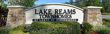 Lake Reams Townhomes for Sale Windermere Florida Real Estate