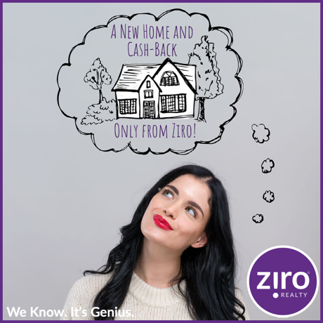 Buy with Ziro and get thousands back at closing