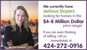We have buyer's looking in Silicon Beach.