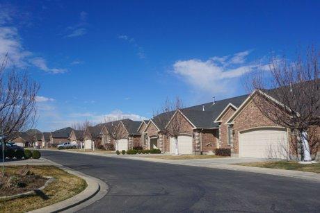 Crystal Cove neighborhood homes in American Fork