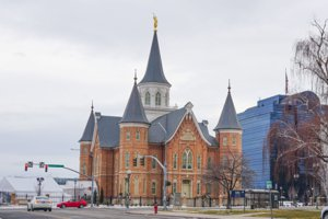 Downtown Provo Utah LDS Temple
