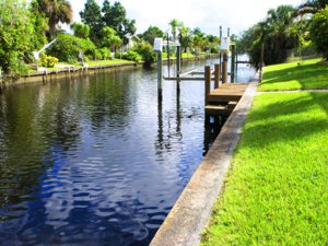 Canal Front Home sold by John Woodward Sarasota Real Estate Group