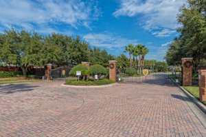 Gated Entry to Nona Crest in Lake Nona