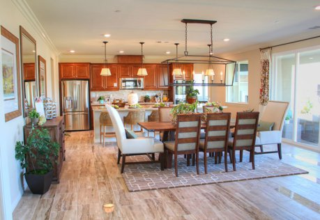 Citrus Heights, new homes, family room