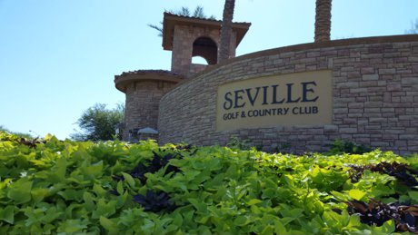 Seville Golf & Country Club Sign