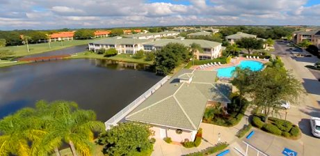 1522 Gondola Park Pool, Clubhouse and Lake in Venice FL
