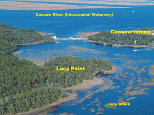 Deep water acreage on ladys Island Beaufort SC