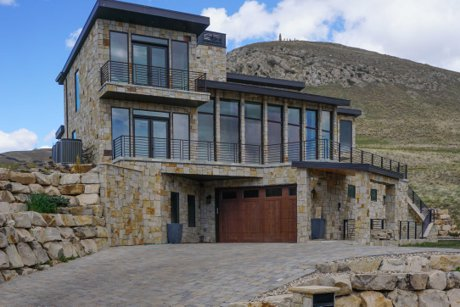 Salt Lake County million dollar home