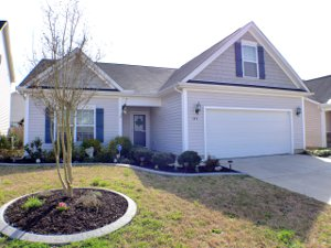 Front view of home at 344 Leyland Cypress Ln_Fuquay Varina