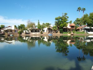 Dobson Ranch Lakefront Homes