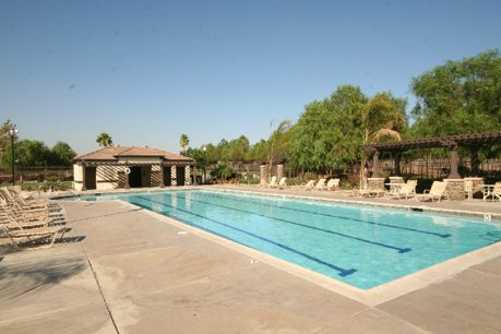 The community is gated and has terrific community amenities including
