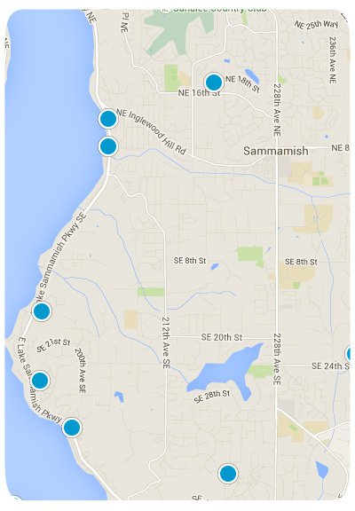 Sammamish Interactive Map Search