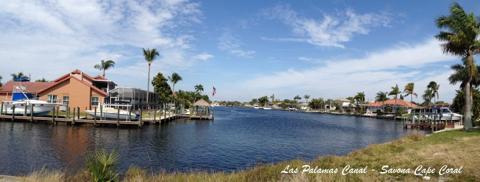 Direct Sailboat Gulf Access canal in Savona area Cape Coral Florida