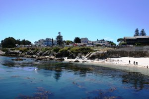 Lovers Point in Pacific grove