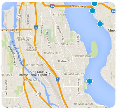 South Seattle Interactive Map Search