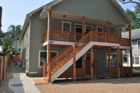 Large back porches