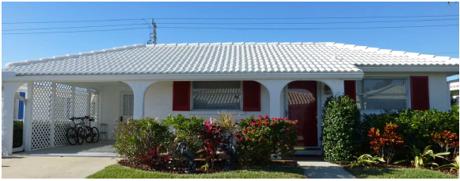 A typical villa at Spanish Main
