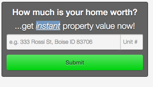 Search For Home Values in Boise
