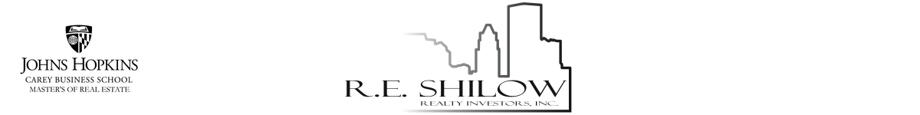 Buy, Sell, Invest in Real Estate in Maryland with R.E.Shilow Realty Investors, Inc.