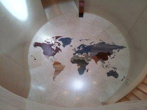 MIM - World Graphic on Tile