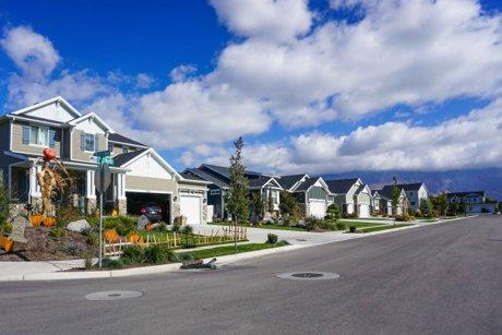 Ashley Meadows neighborhood in American Fork