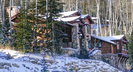 Park City million dollar home at Deer Valley